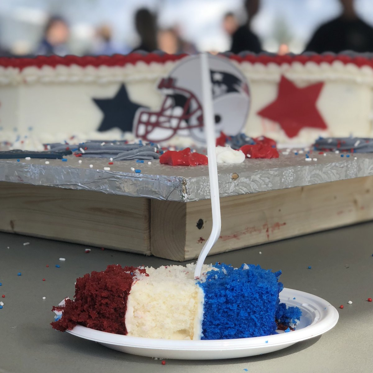New England Patriots On Twitter Patscamp Birthday Cake Update