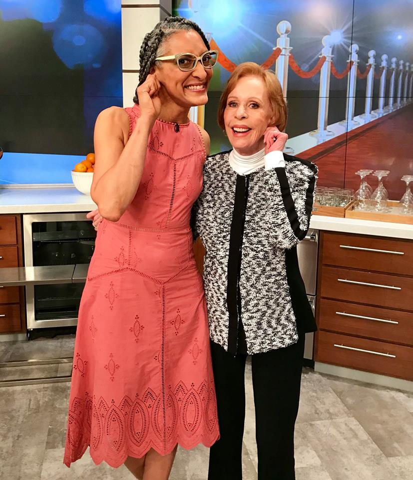 #FBF to that time Carla met the legendary Carol Burnett. Tune in today for this cant-miss flashback episode of #TheChew!
