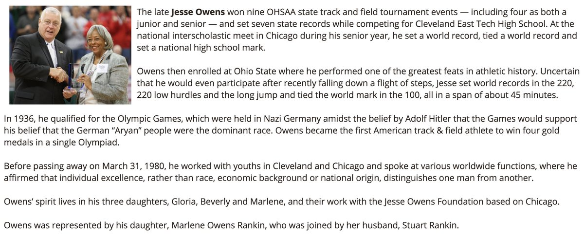 Ohsaa Sports On Twitter This Date In History Aug 3 1936