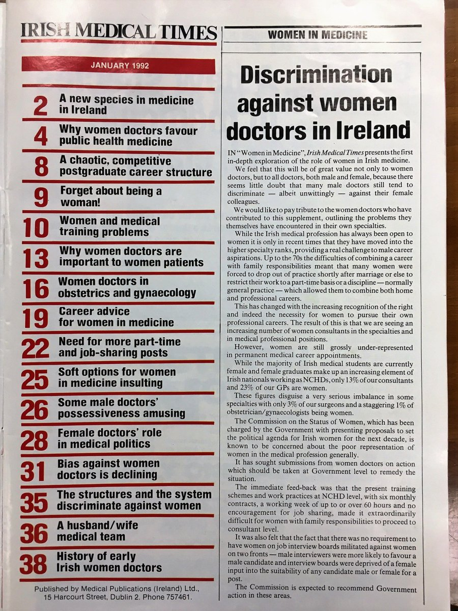 RCSI Equality on Twitter: