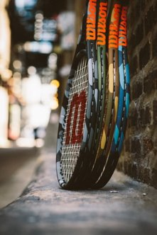 Stand Up and Be Seen with @WilsonTennis new Limited Edition collection of Camouflage rackets! #BeSeen