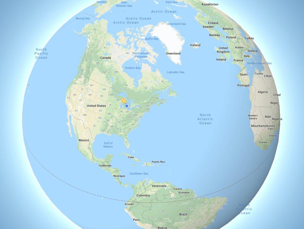 Google Maps is no longer #flatearth https://t.co/3CjohbrTzc by @mjburnsy