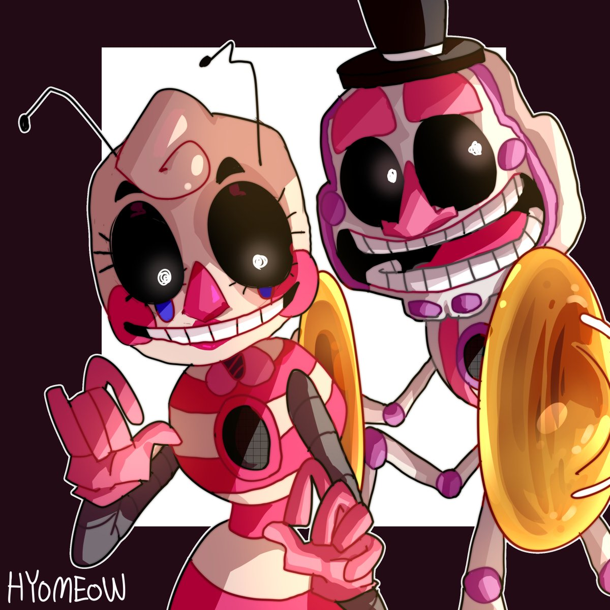 Hyo Commission Closed On Twitter A Request From Amino Fnaf