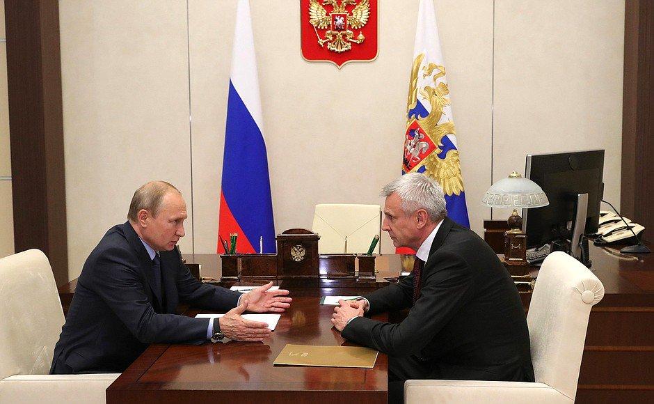 Working meeting with Acting Governor of Magadan Region Sergei Nosov bit.ly/2KnumI2