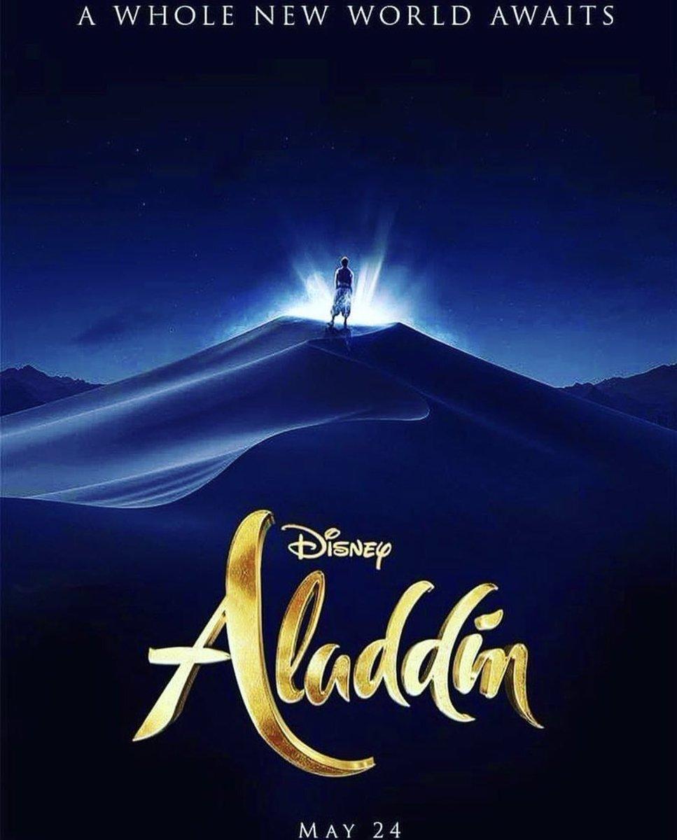 "Carlos Da Silva On Twitter: ""(Poster) Aladdin #Cine…"
