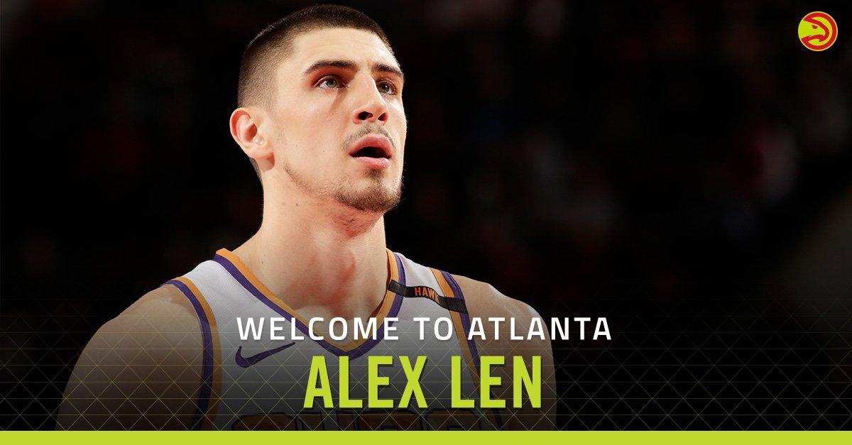 Лень подписал контракт с Атлантой