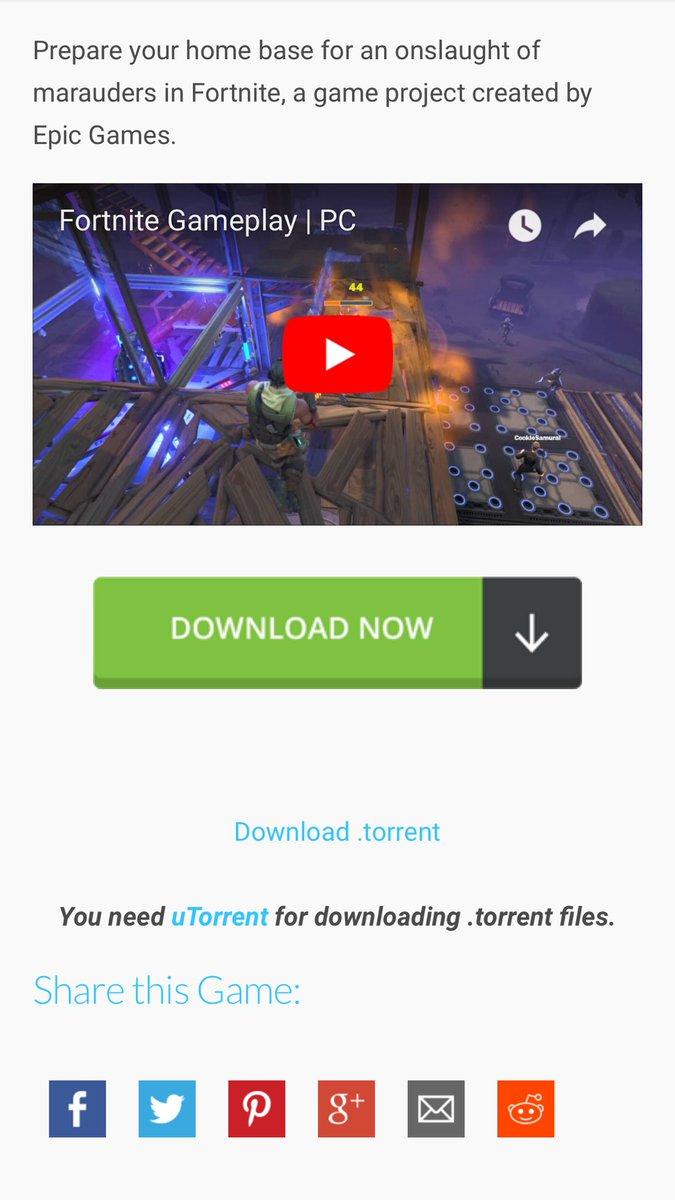 descargar fortnite para pc full español utorrent