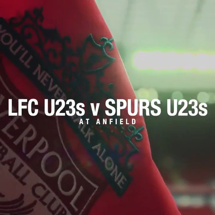 This week, #LFCU23s head to Anfield for their first home match of the 18/19 #PL2 season. Tickets from £1: liverpoolfc.com/tickets