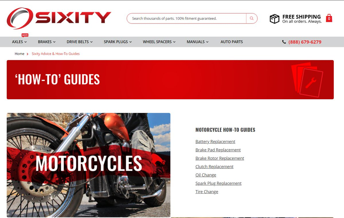 Sixity Powersports On Twitter Need Help Installing Your Part Automotive Motorcycle Parts Engine Clutches Access Our Free How To Guides For Motorcycles Atvs And Snowmobiles Here