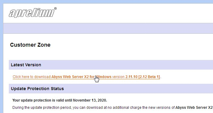Happy to announce the 1st Beta of the upcoming Abyss Web Server version 2.12. It features support for requesting, fetching, and installing free SSL certificates from @letsencrypt. Download it from https://aprelium.com/forum/viewtopic.php?t=471475 … and let us know how it works for you.