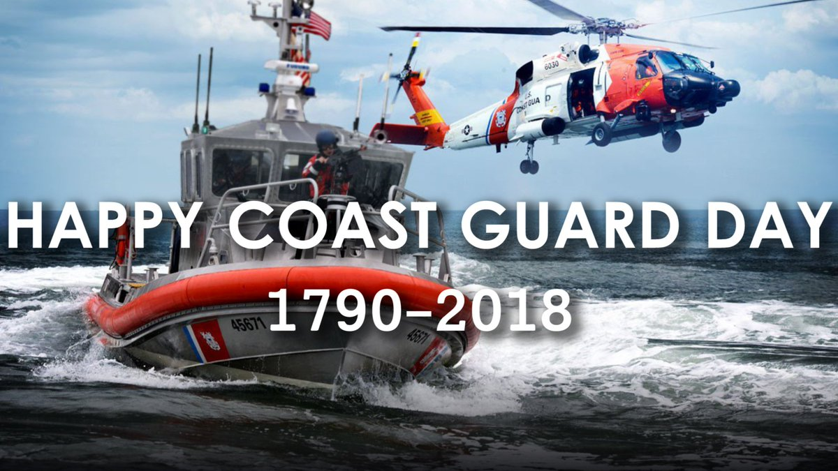 Happy 228th Birthday, @USCG. Here's to many more years of success!