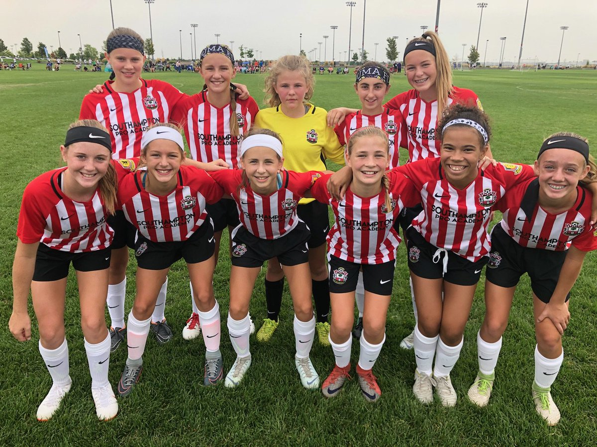Puma Fc On Twitter Starting Xi For The Southampton Pro Academy 05 Girls At Denver Cup Against The 2 Team From New Mexico Good Luck Ladies Coach Ricky Go Saints Wemarchon