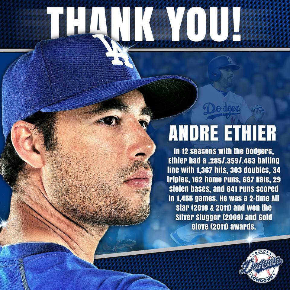 Thanks For Memories Andre >> Dodgers Lowdown On Twitter In Honor Of Andre Ethier S Retirement