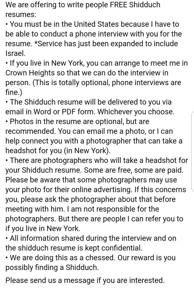 Tweets With Replies By Free Shidduch Resume Writing Service