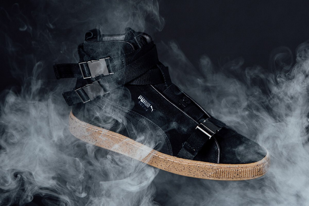 7ddd475b00f6 The weeknd turns the puma suede into a military boot  - scoopnest.com