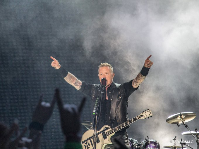 Happy birthday, James Hetfield! Some of my favorite photos from that night!