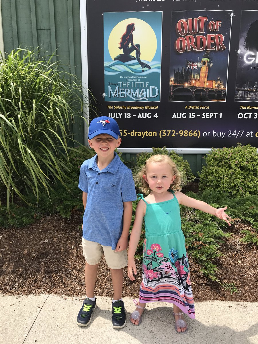 Can't say enough wonderful things about our family road trip to #StJacobsCountryPlayhouse to see #TheLittleMermaid ! Kids were captivated. What amazing performances! #andthecostumestoo #worththedrive #newfamilytradition Looking forward to 2019 @drayton_theatre schedule.<br>http://pic.twitter.com/CYprvY68G6