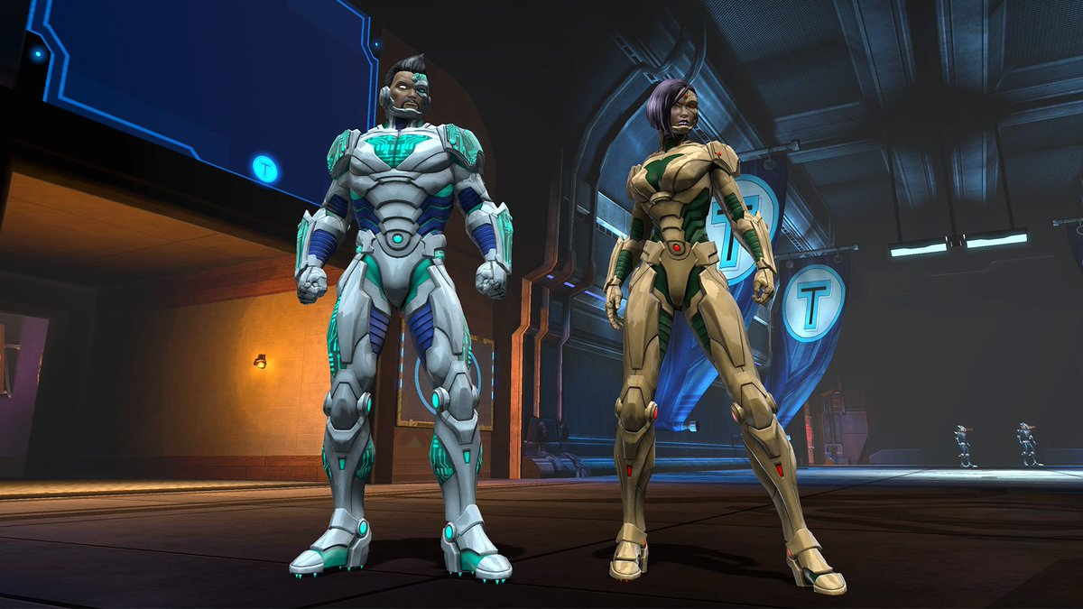 Dc Universe Online On Twitter Dress To Impress The Robots With