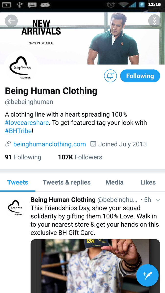 1494a61d37 Being Human Clothing on Twitter