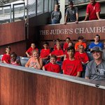 What a  way to end our Summer School enrichment camp!  Campers loved their tour of yankee stadium #99 #badgersinthechambers #TheCraigSchool
