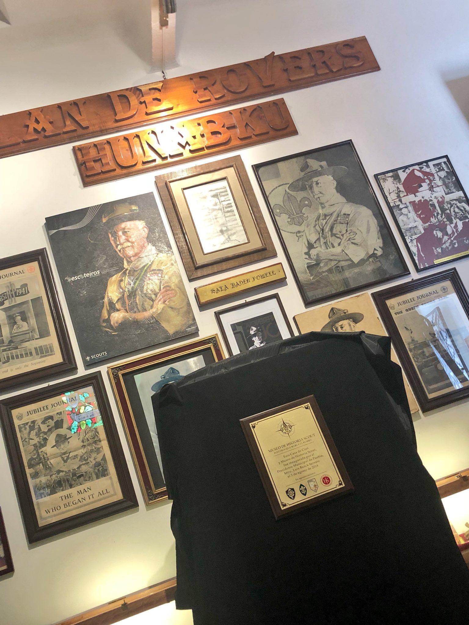 Interior del Museo Scout en Puebla