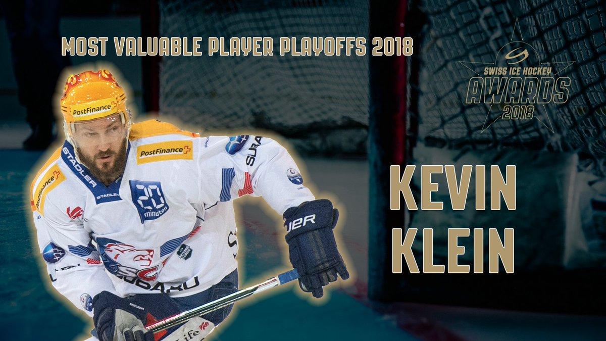 Znalezione obrazy dla zapytania kevin klein swiss ice hockey awards 2018