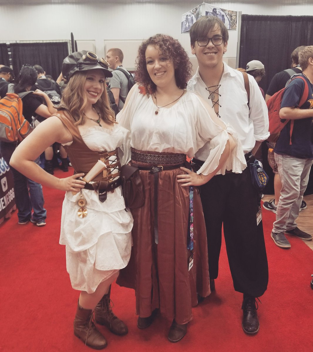 #Event Awesome of the Day: #Steampunk ⚙️ #Cosplay 🎩 at @Gen_Con (Aug 2-5, 2018) in #Indianapolis #IN #USA 🇺🇸 via @CskimCosplay #SamaEvent 📌 #SamaCosplay