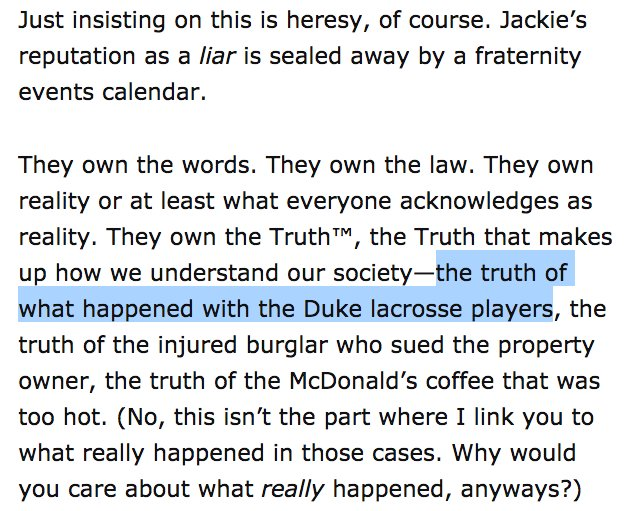 Sarah Jeong The Duke Lacrosse Team Was Guilty By Steve Sailer