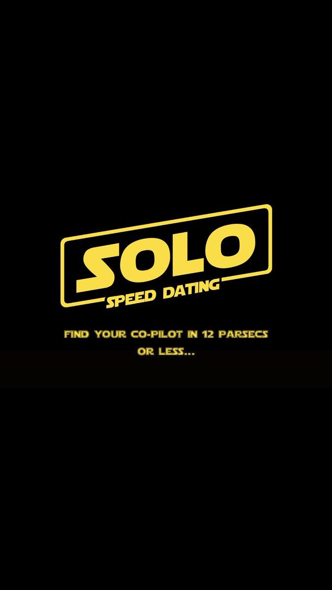 Speed Dating Solo