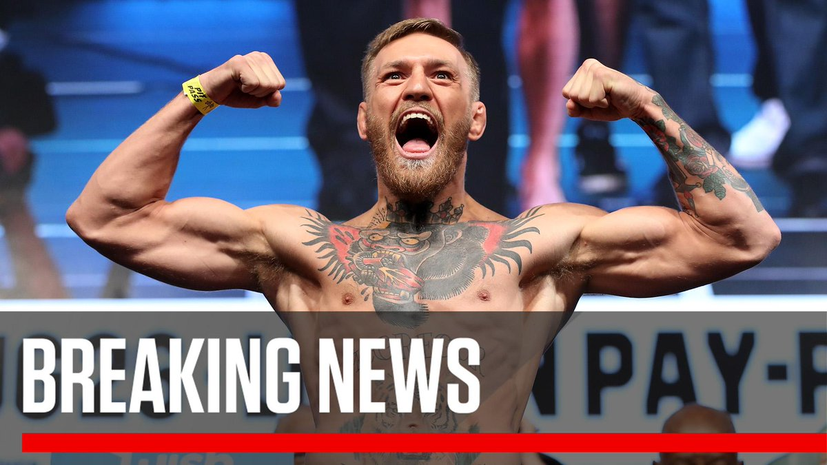 Breaking: Conor McGregor's return to the UFC will take place on October 6th in Las Vegas against undefeated lightweight champion Khabib Nurmagomedov.