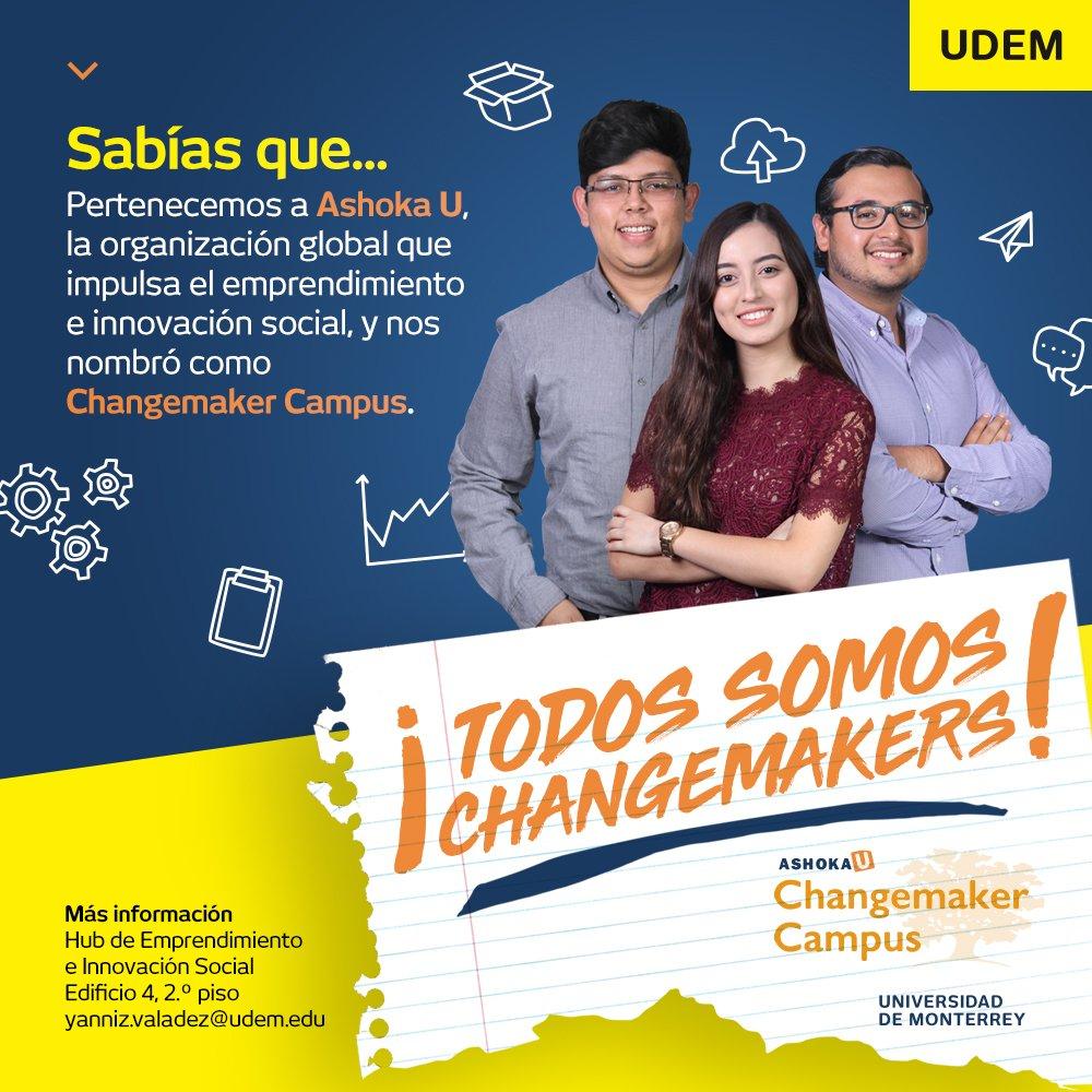 Resultado de imagen para changemakers udem