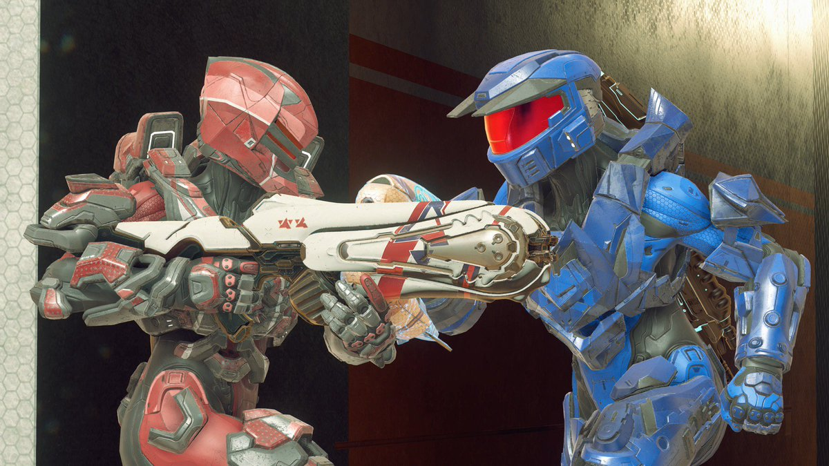 Currently trying out the new maps that have been added to Super Fiesta! @Halo twitch.tv/ubernick