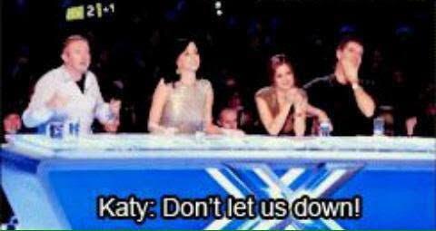 ' Don't let us down ' ' I won't '
