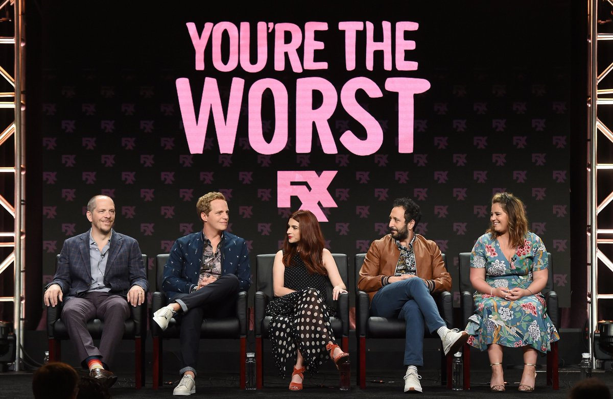 Crazy good times at the #TCA18 panel for the fifth and final season of #YoureTheWorst.