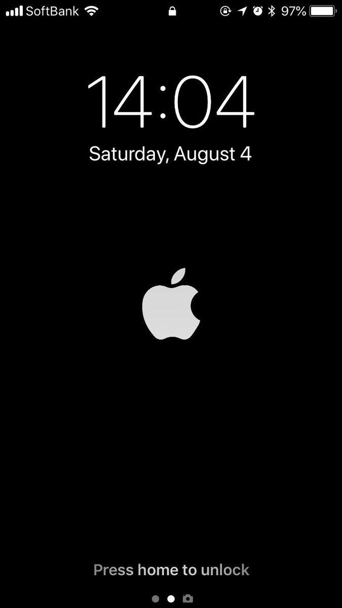 くれい スマブラsp Apex On Twitter Iphone起動時のシンプルなロゴ