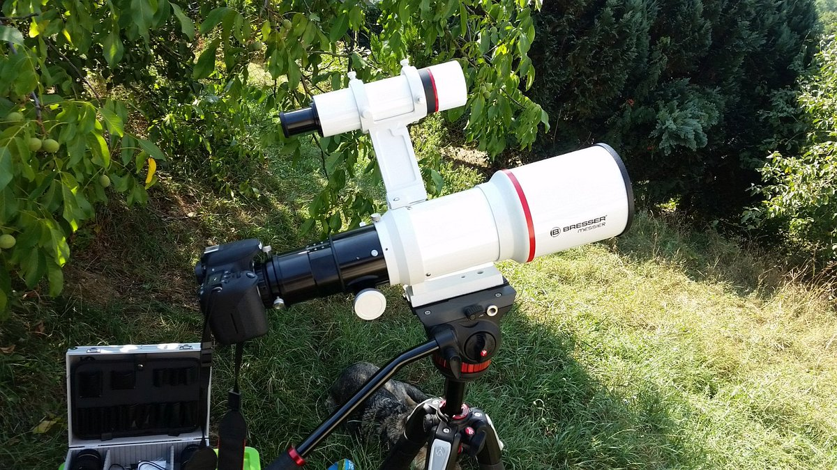 Bresser refraktor teleskop ebay kleinanzeigen