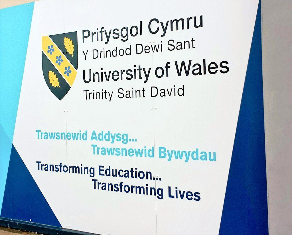 Bore da! Good morning!  Great news. . . More fantastic results! University of Wales Trinity Saint David ranked 4th overall in the #UK in UK Engagement Survey (#UKES) @HEA_Surveys:  https://www. uwtsd.ac.uk/news/press-rel eases/press-2018/uwtsd-celebrates-success-in-the-uk-engagement-survey-ukes.html &nbsp; …  #StandOut with #UWTSD   #DyddieDa #GoodTimes @UWTSD<br>http://pic.twitter.com/heqvVCSy9H