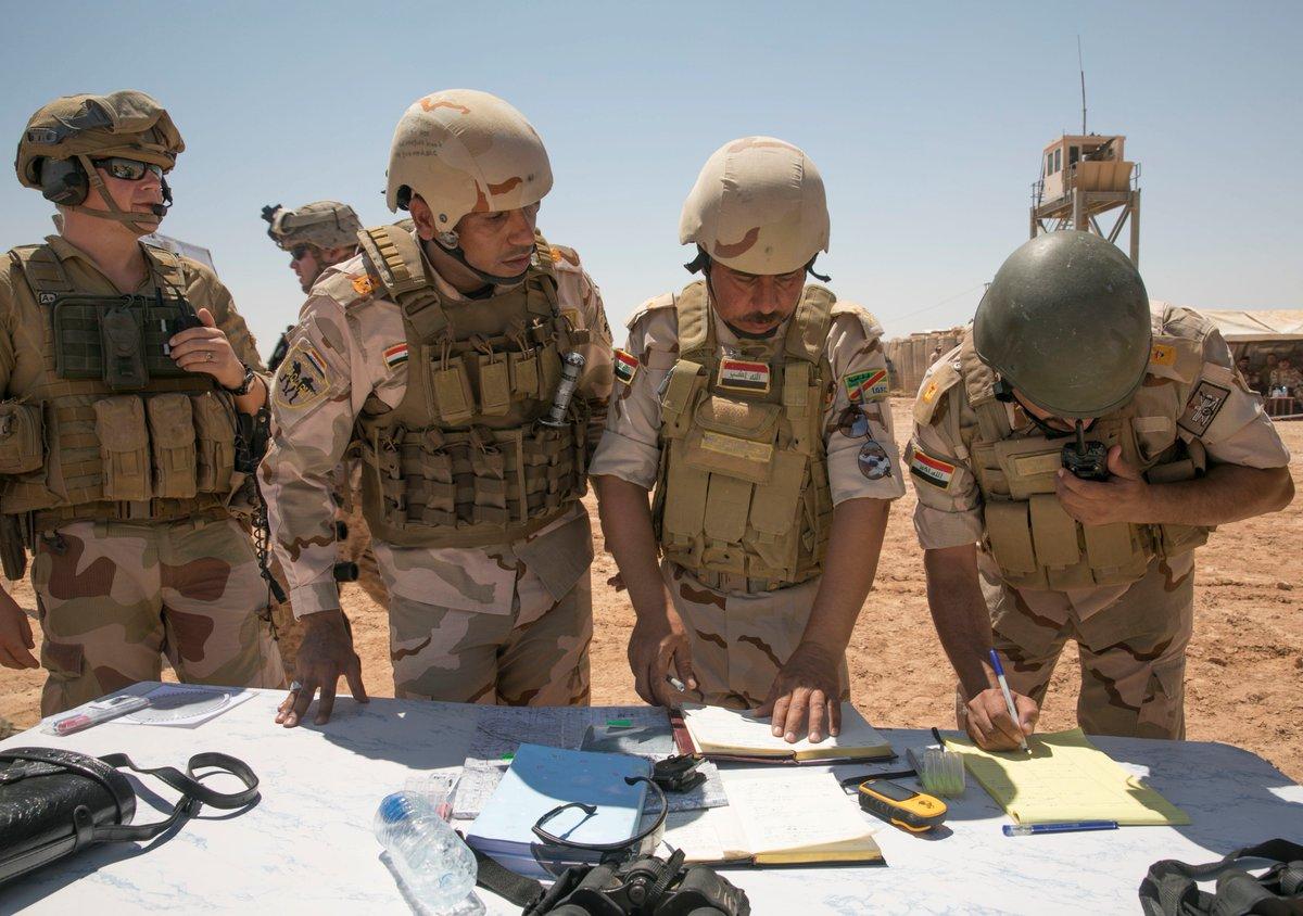 جهود التحالف الدولي لتدريب وتاهيل وحدات الجيش العراقي .......متجدد - صفحة 3 DjvAwMjVAAAS4uB