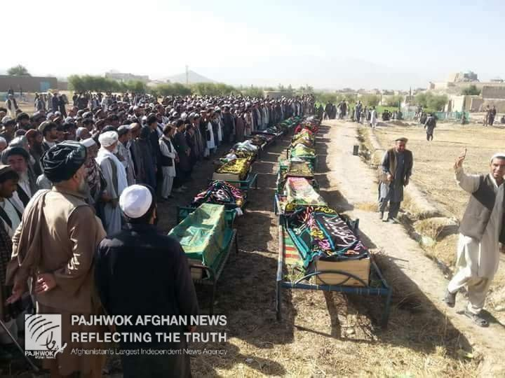 Pajhwok Afghan News A Twitter 34 Dead Bos Of The
