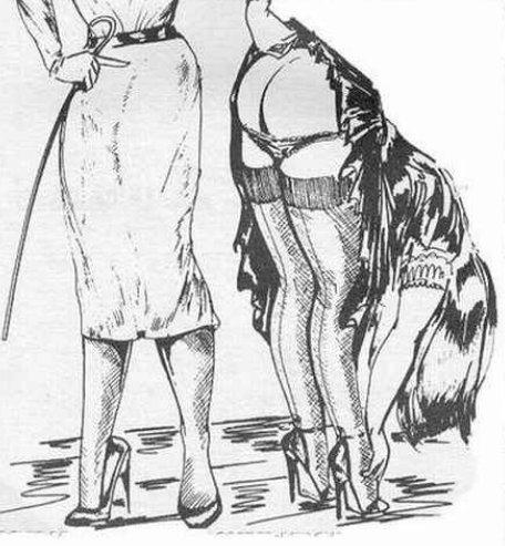 Think, otk spanking art