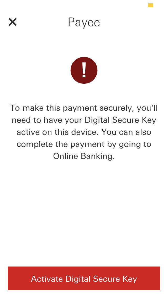 www hsbc co uk activate secure key