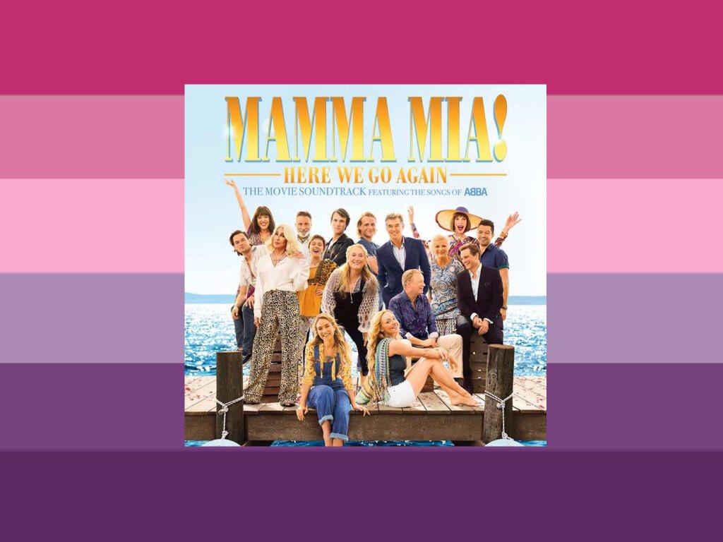 the mamma mia 2 soundtrack has BDE