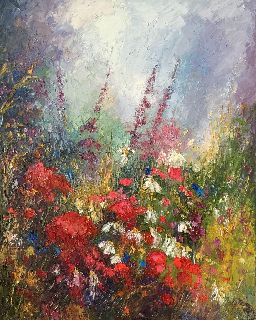 """Awaiting Spring""16x20 palette knife oil painting study by Peggy Ann Thompson Blackwell Gallery #art #artwork #artist #fineart #fineartamerica #artgallery #artbuyers #painting #oilpainting #artistontwitter<br>http://pic.twitter.com/y9ezPA9wVm"