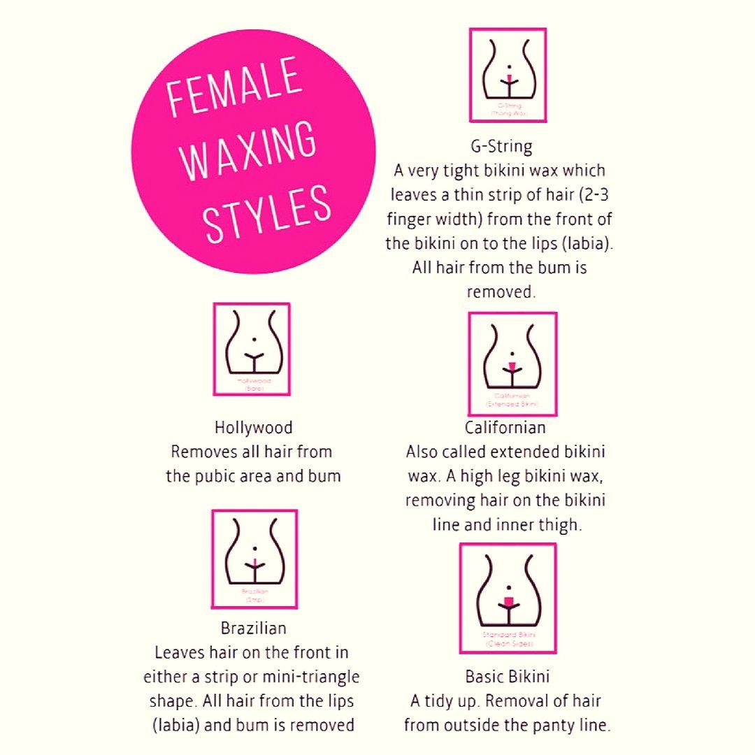Types of bikini wax styles #2