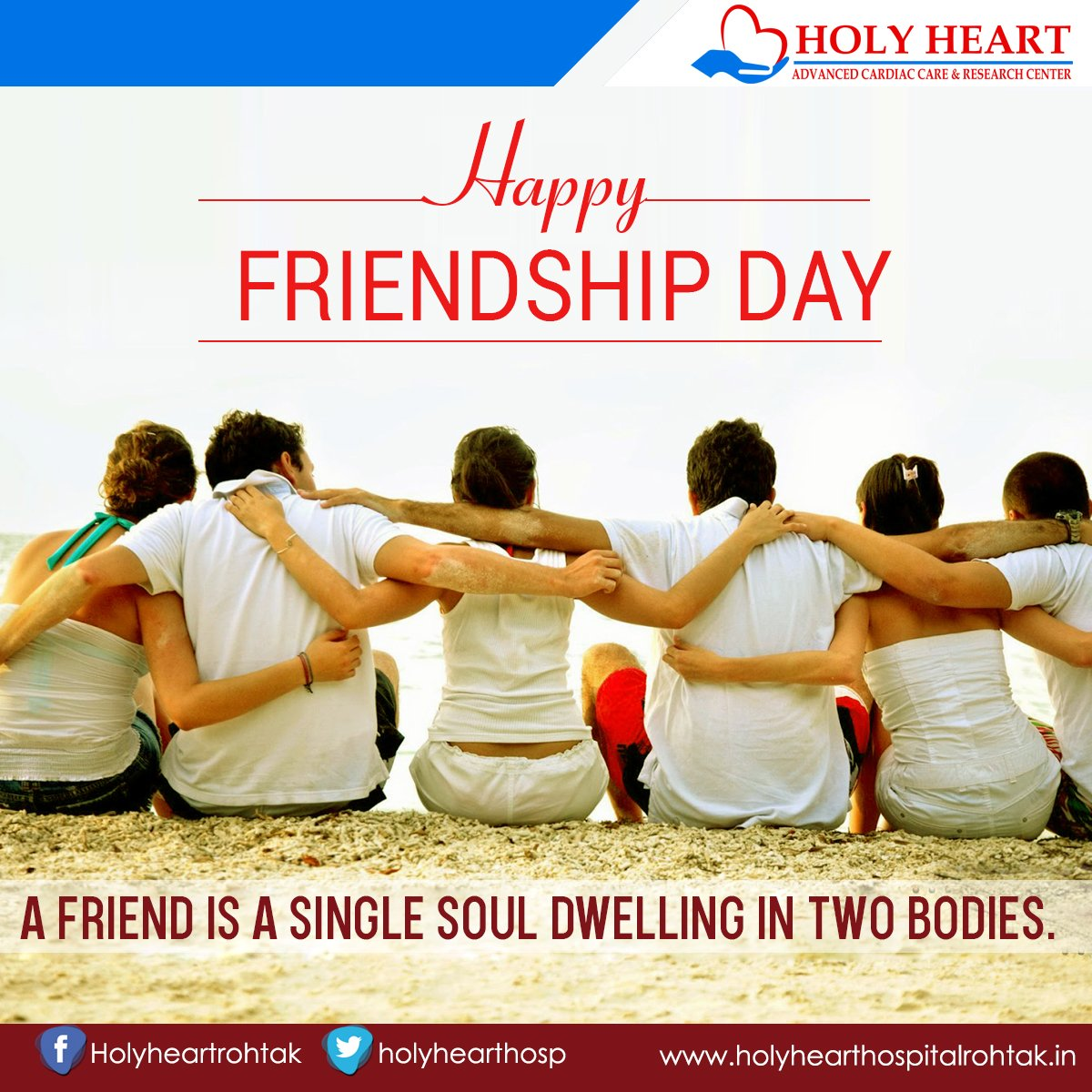 Holy Heart Hospital On Twitter Best Friend Are The One Who Brings Out The Best In You This Friendship Day Spend Your Time With Your Buddies Friendshipday Bestfriend Friends Familyforlife Truefriends Https T Co Yh9zagfgo3