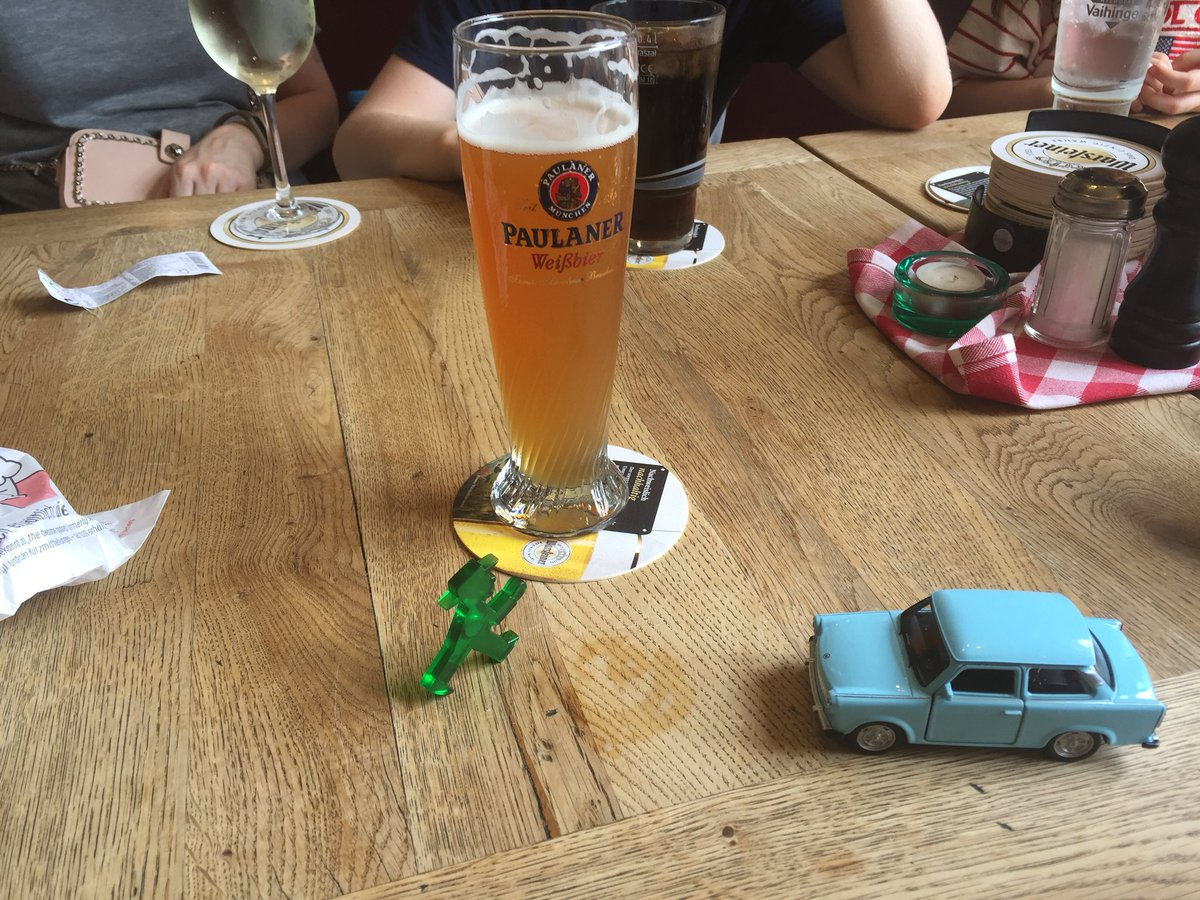 My Berlin: Trabi, ampelmann and a beer