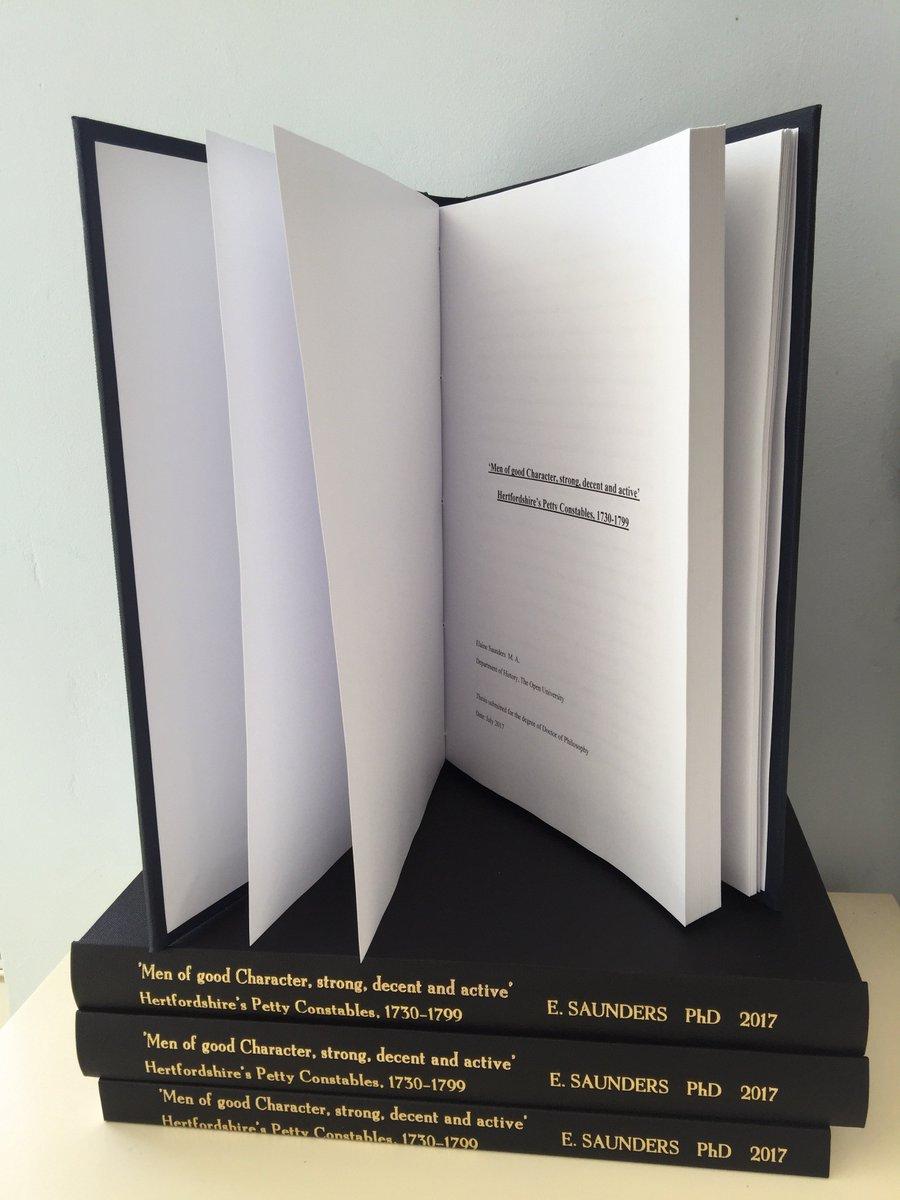 thesis binding highbury