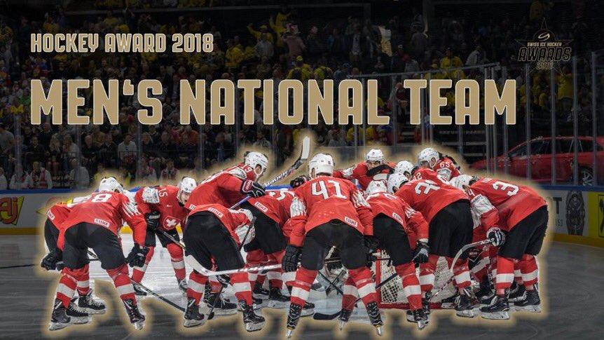 Znalezione obrazy dla zapytania Swiss Ice Hockey Awards 2018