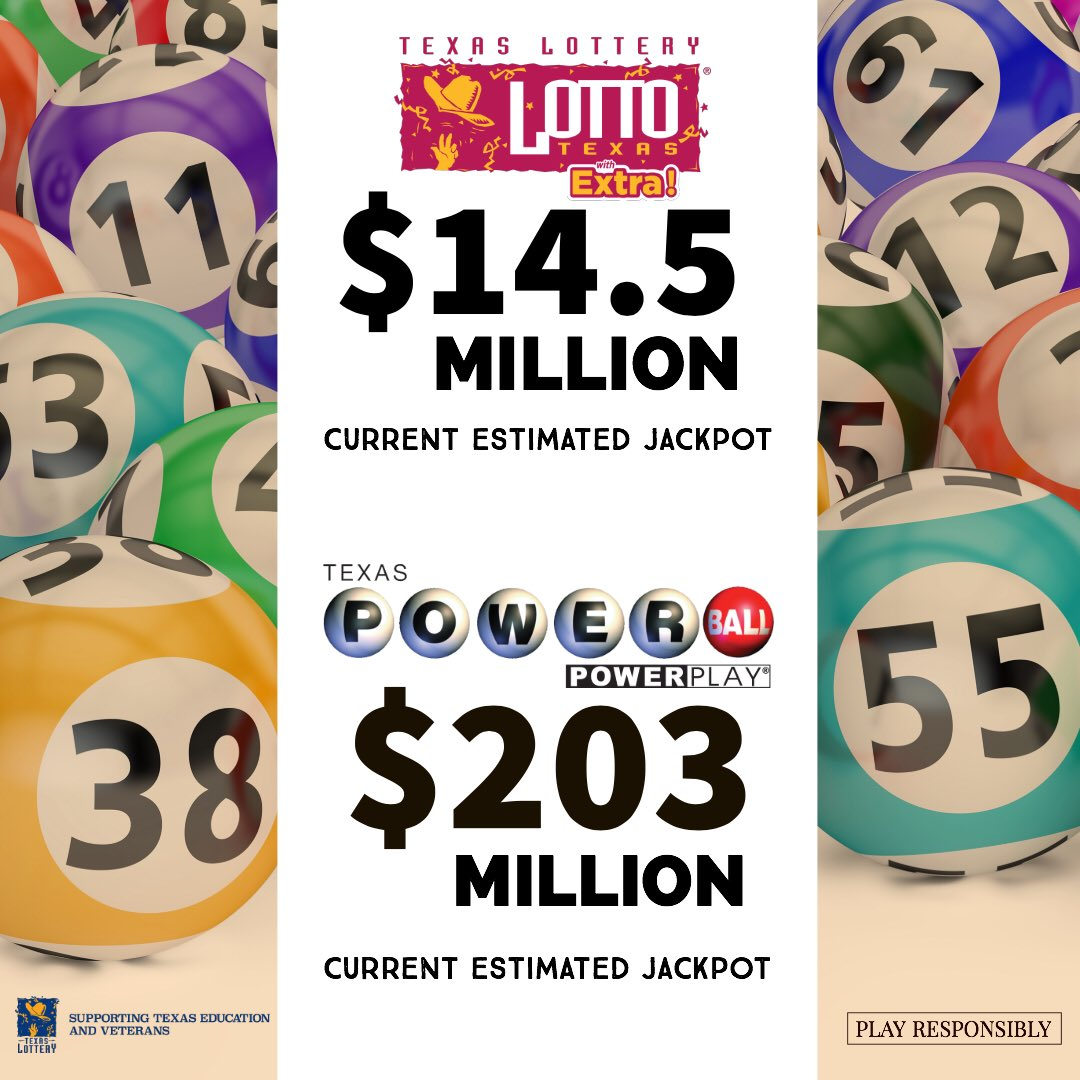 Texas Lottery On Twitter Two Big Jackpot Drawings Tonight Which