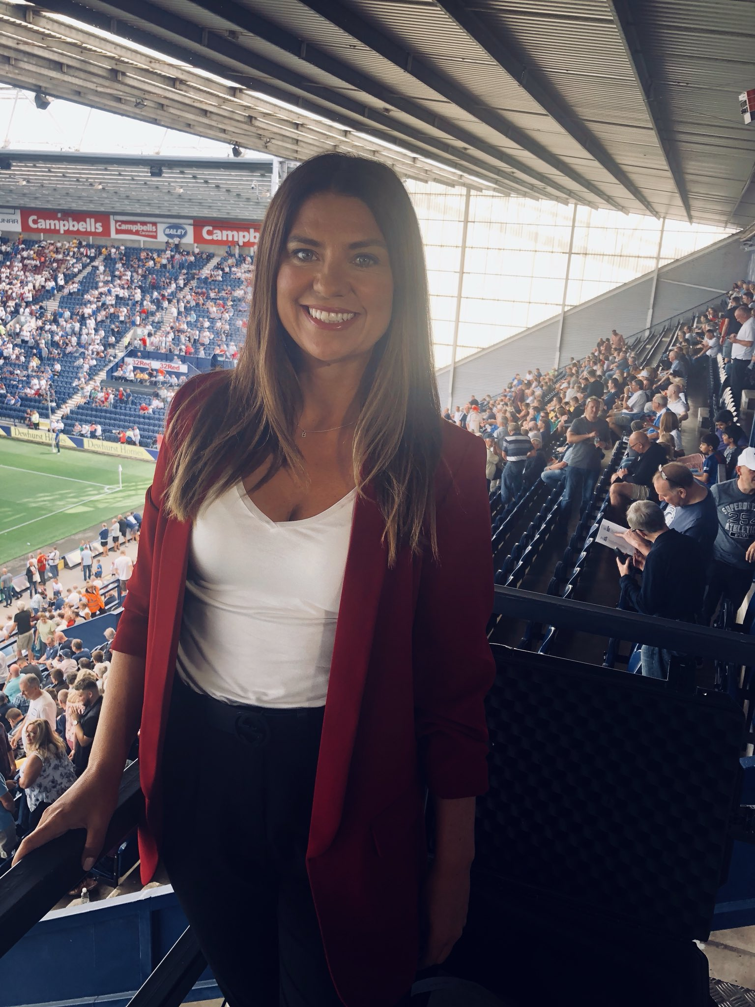 Bianca Westwood on Twitter: Here we go back in the gantry